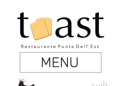 Menu Restaurant Toast Fuerteventura